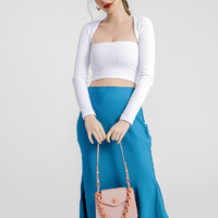BCBGeneration腋下包包女2021新款小众设计高级感时尚链条单肩包