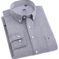 TOMYRESON 汤米里森 男士长袖衬衫 TM20180606 灰色 S
