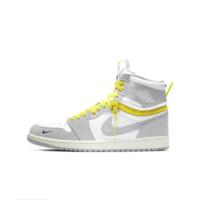 AIR JORDAN 正代系列 Air Jordan 1 Switch 男子篮球鞋 CW6576-100 灰/白/黄 44