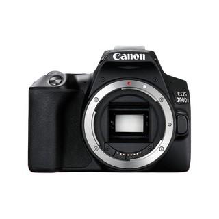 Canon 佳能 EOS 200D II APS-C画幅 数码单反相机 黑色 单机身