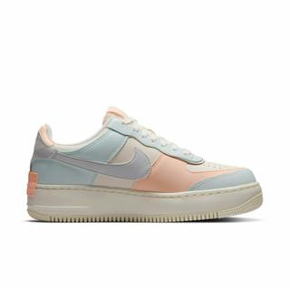 NIKE 耐克 Air Force 1 Shadow 女子运动板鞋 CU8591-104 淡蓝粉 36