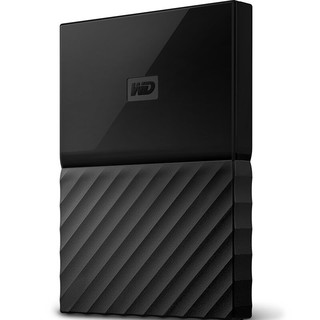 Western Digital 西部数据 My Passport系列 2.5英寸 移动机械硬盘 2TB USB 3.0 经典黑