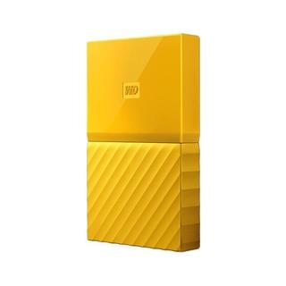 Western Digital 西部数据 My Passport系列 2.5英寸 移动机械硬盘 1TB USB 3.0 清新黄