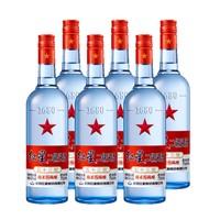 88VIP:红星 二锅头 53度绵柔8纯粮   750ml*6瓶