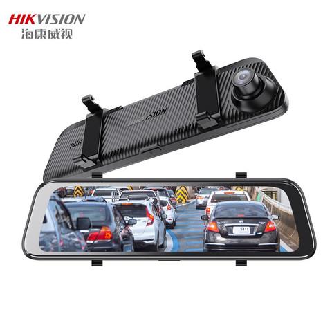 PLUS会员:HIKVISION 海康威视 N6Pro 流媒体行车记录仪 2K超清  双镜头