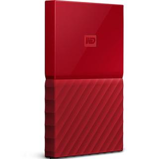Western Digital 西部数据 My Passport系列 2.5英寸 移动机械硬盘 2TB USB 3.0 中国红