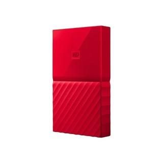 Western Digital 西部数据 My Passport系列 2.5英寸 移动机械硬盘 4TB USB 3.0 中国红