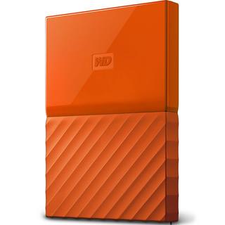 Western Digital 西部数据 My Passport系列 2.5英寸 移动机械硬盘 4TB USB 3.0 活力橙