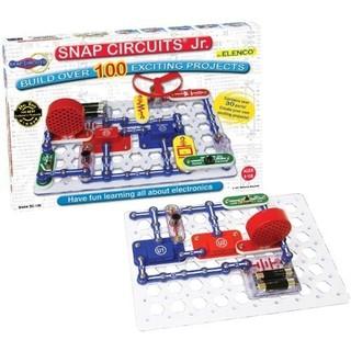 Prime会员 : ELENCO 埃伦克 SNAP CIRCUITS Jr. SC-100 益智电路积木玩具