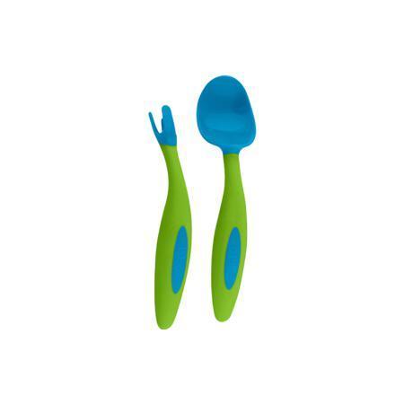 b.box 婴儿叉勺儿童餐具训练bbox宝宝吃饭辅食叉汤勺套装辅食勺