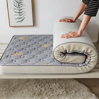 CHUYI 初意 加厚床垫 120*190cm 金色叶子