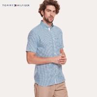 TOMMY HILFIGER 汤米·希尔费格 MW0MW09686 男士短袖衬衫