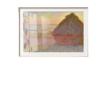 mfa美术博物馆 DD047A0106001W0 莫奈《干草垛(落日)》装饰画