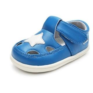little blue lamb 小蓝羊 婴儿学步凉鞋