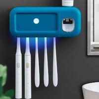 京东PLUS会员:东耐伦 2222 牙刷消毒置物架
