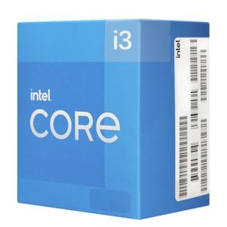 intel 英特尔 酷睿 i3-10105F CPU 3.70GHz 4核8线程