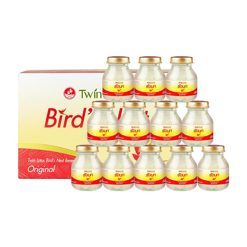 Twin Lotus 双莲 TwinLotus即食燕窝原味冰糖型 75ml*6瓶*2件装
