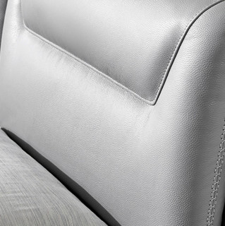KUKa 顾家家居 床具套装 NL5119常规款+M0001E梦想垫 1.5m床 大地灰