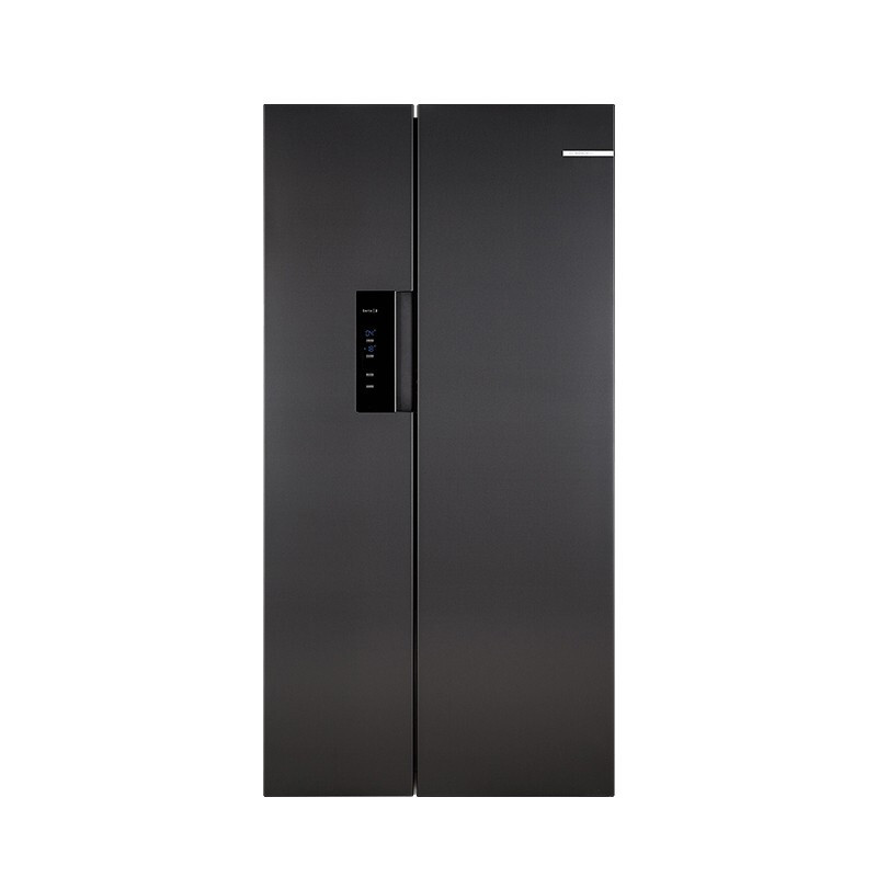 PLUS会员 : BOSCH 博世 KXN50A97TI 对开门冰箱  502L 钛灰