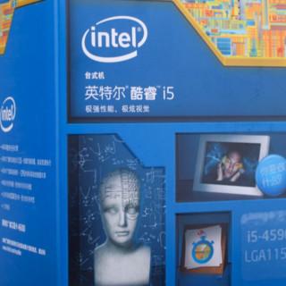 intel 英特尔 酷睿 i5-4590 CPU 3.30 GHz 4核4线程