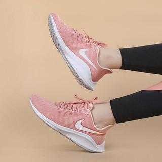 NIKE 耐克 女鞋2021春新款ZOOM缓震跑步鞋网面透气运动鞋AH7858-601