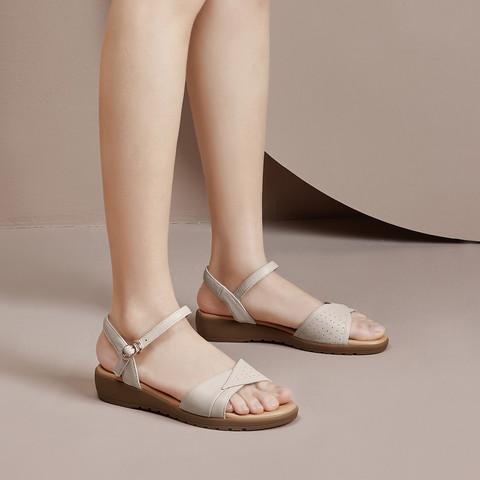 YEARCON 意尔康 1372DL26306W-05 女士凉鞋