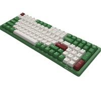 Akko 艾酷 3096DS 有线机械键盘 100键 TTC金茶轴 红豆抹茶