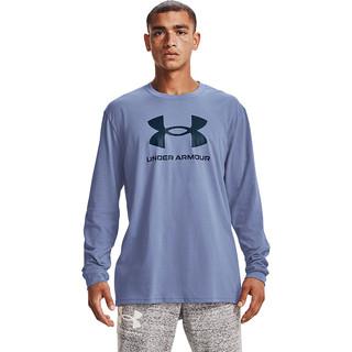 UNDER ARMOUR 安德玛 官方UA Sportstyle Logo男子训练运动长袖卫衣1362743