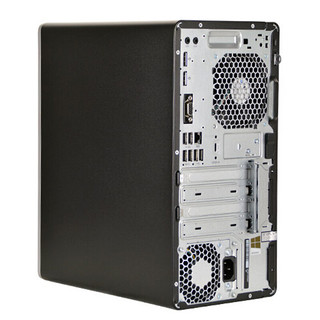 HP 惠普 EliteDesk 880G3 台式机 黑色(酷睿i5-7500、核芯显卡、8GB、128GB SSD+1TB HDD、风冷)