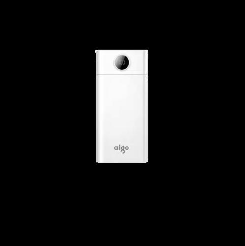 aigo 爱国者 W300 移动电源 白色 30000mAh Type-c micro usb 2.1A双向快充