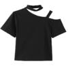 蚂蚁Q娃 女士露肩T恤 21032501