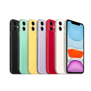 Apple 苹果 iPhone 11 4G手机 128GB 白色