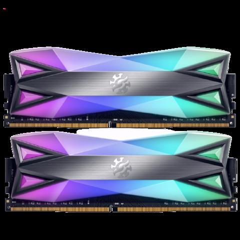 ADATA 威刚 龙耀D60 台式机内存条 16GB(8GBx2) DDR4 3200MHz