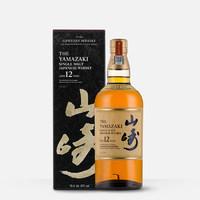 黑卡会员:SUNTORY 三得利 山崎12年43%Vo 单一麦芽威士忌  700ml
