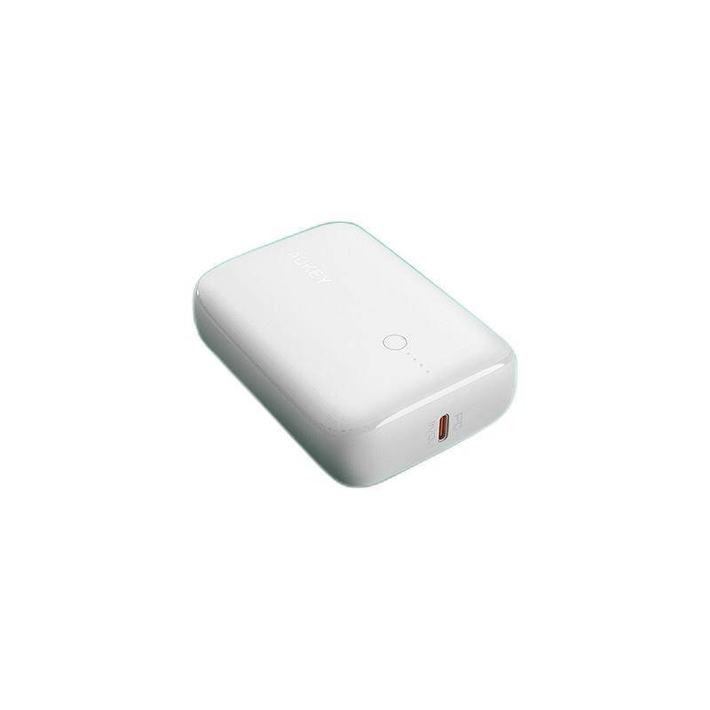 AUKEY 傲基科技 傲基 N83 移动电源 白色 10000mAh Type-C 18W双向快充