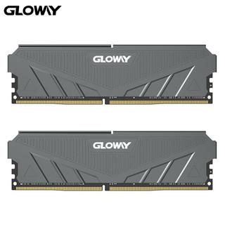 GLOWAY 光威 天策系列 DDR4 3000MHz 台式机内存 16GB(8GBx2)套装 摩登灰