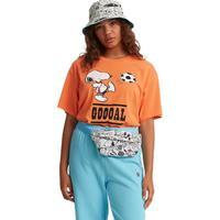 Levi's 李维斯 Peanuts®2020夏季联名系列 女士短袖T恤 56152-0006 橘色 S