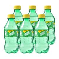 Sprite 雪碧 柠檬味 汽水 碳酸饮料 300ml*6瓶
