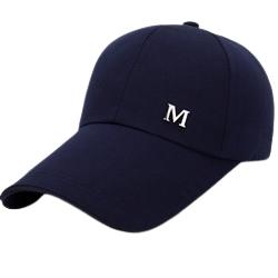 HOCR 帽子男潮黑色鸭舌帽韩版百搭男士春夏棒球帽