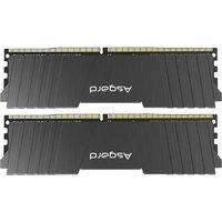 Asgard 阿斯加特 洛极LOKI系列 洛极 T2 DDR4 3200MHz 台式机内存 黑色 16GB 8GB*2