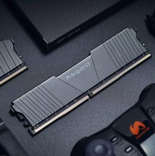 Asgard 阿斯加特 洛极LOKI系列 洛极 T2 DDR4 3200MHz 黑色 台式机内存 32GB 16GB*2