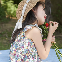 the little sugar milk baby 一米半糖 女童夏季连衣裙