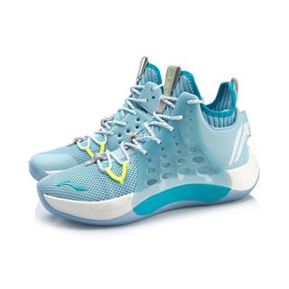 LI-NING 李宁 音速7 男子篮球鞋 ABAP019-4 蓝白 41