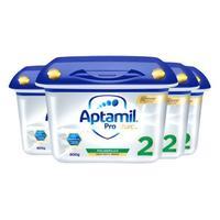 Aptamil 爱他美 白金版 婴儿奶粉2段 800g*4罐
