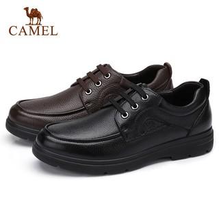 CAMEL 骆驼 A932211690 男士系带商务休闲皮鞋