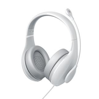 MI 小米 K歌版 耳罩式头戴式动圈耳机 白色 3.5mm