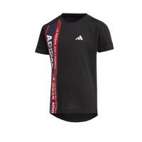 adidas 阿迪达斯 儿童运动短袖T恤 FM9798