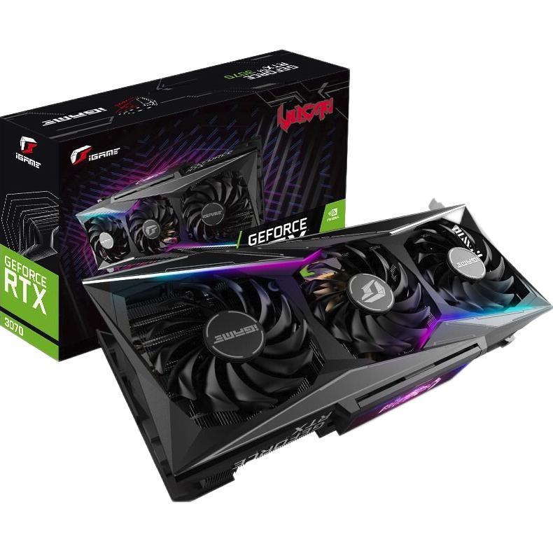 COLORFUL 七彩虹 iGame GeForce RTX3070 Vulcan OC 显卡 8GB