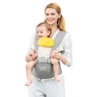 babycare 9826 婴儿背带 透气款 安伯灰