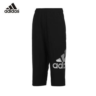 adidas 阿迪达斯 男童针织运动七分裤